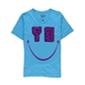 Bar Iii Mens Yo Smile Graphic T-Shirt
